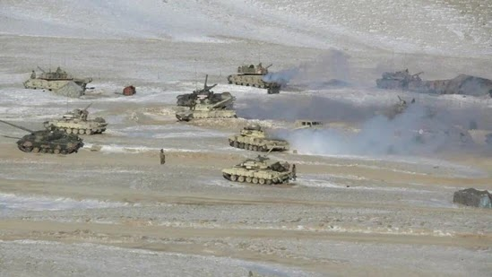 Army Thwarts Pla Bid To Seize Heights Near Pangong - Indian Defence News