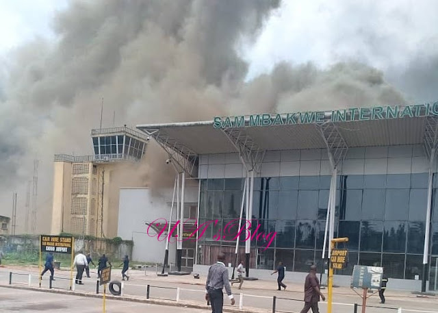 Breaking: Fire reported at Owerri Airport