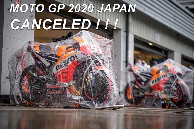 RESMI : MotoGP Jepang 2020 Batal !