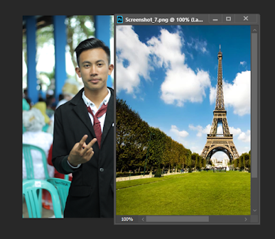 cara mengedit foto latar belakang di adobe photoshop
