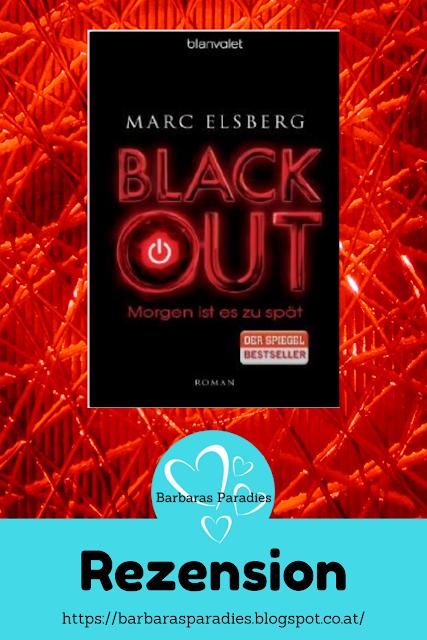 Buchrezension #2 Blackout - Morgen ist es zu spät von Marc Elsberg