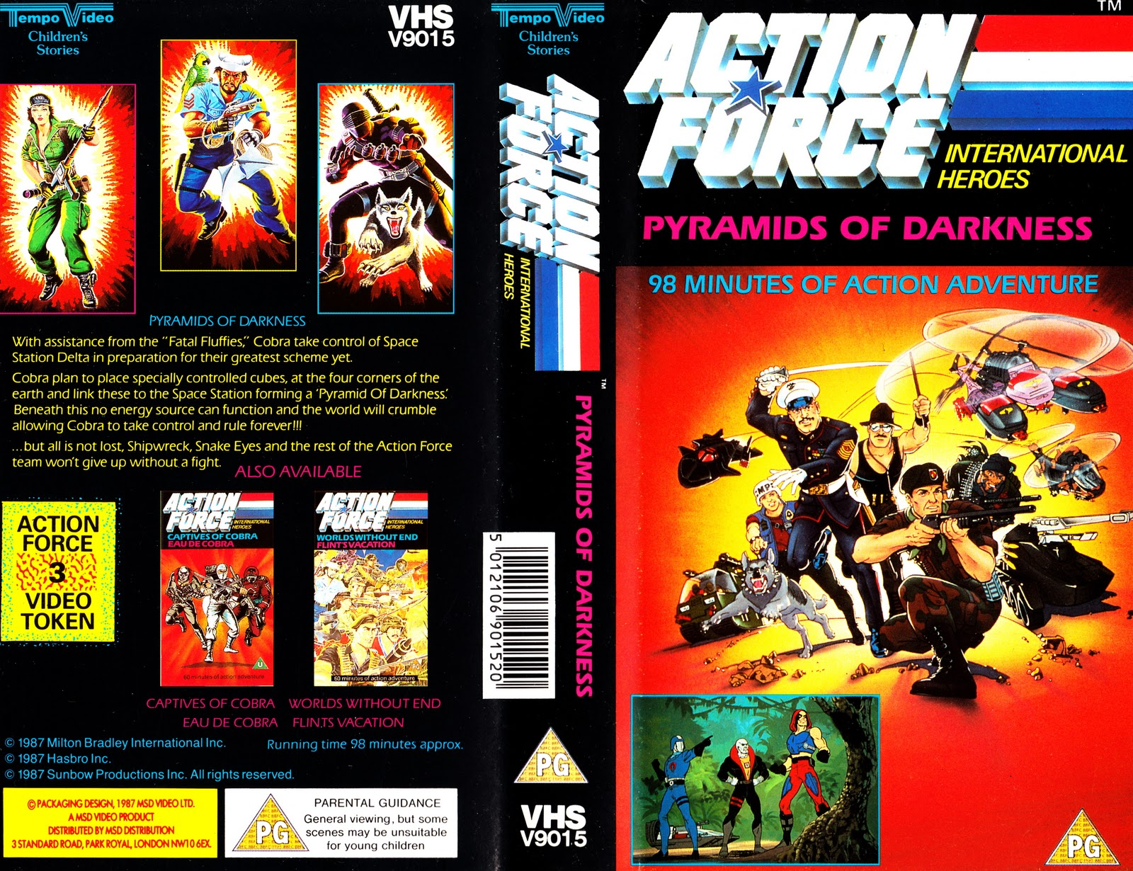 Starlogged Geek Media Again Action Force Animated G I
