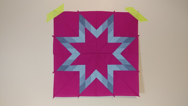 Star quilt from the Diamond Star Quilts book by Barbara Cline