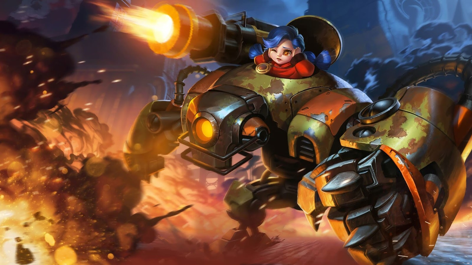 Wallpaper Jawhead Steel Sweetheart Skin Mobile Legends HD for PC