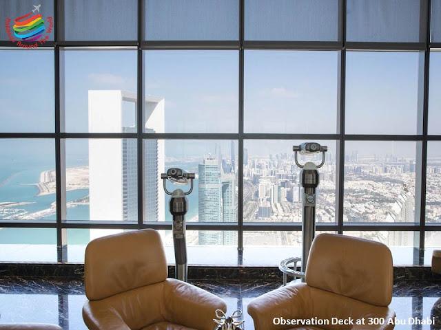 Observation Deck at 300 Abu Dhabi