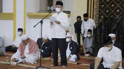 Pemkab Asahan Peringati Tahun Baru Islam 1443 H Sekaligus Doa dan Zikir Kebangsaan