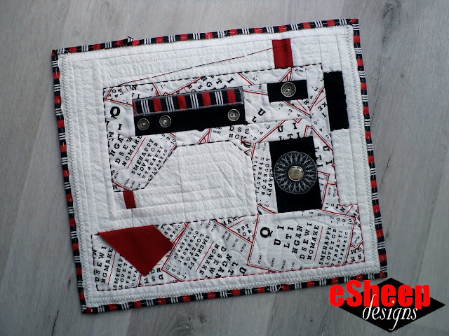 FQS Snapshots Sew On & Sew On Quilt Block crafted by eSheep Designs
