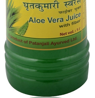 Here are the Ingredients present in Patanjali Aloe Vera Juice :