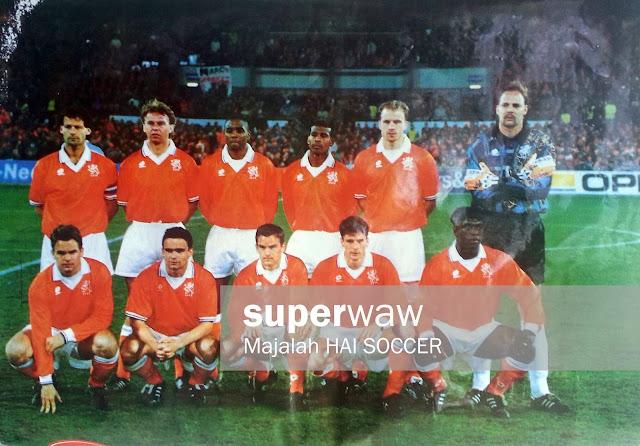Netherland Squad 1997