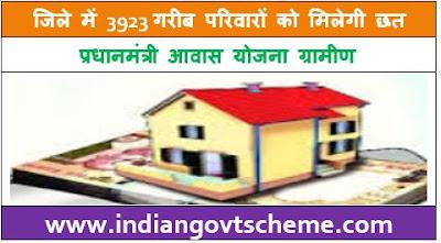प्रधानमंत्री आवास योजना ग्रामीण कुदरहा ब्लाक