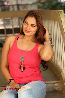 Tollywood Actress Ashwini Latest Stills in Ripped Jeans  0159.JPG
