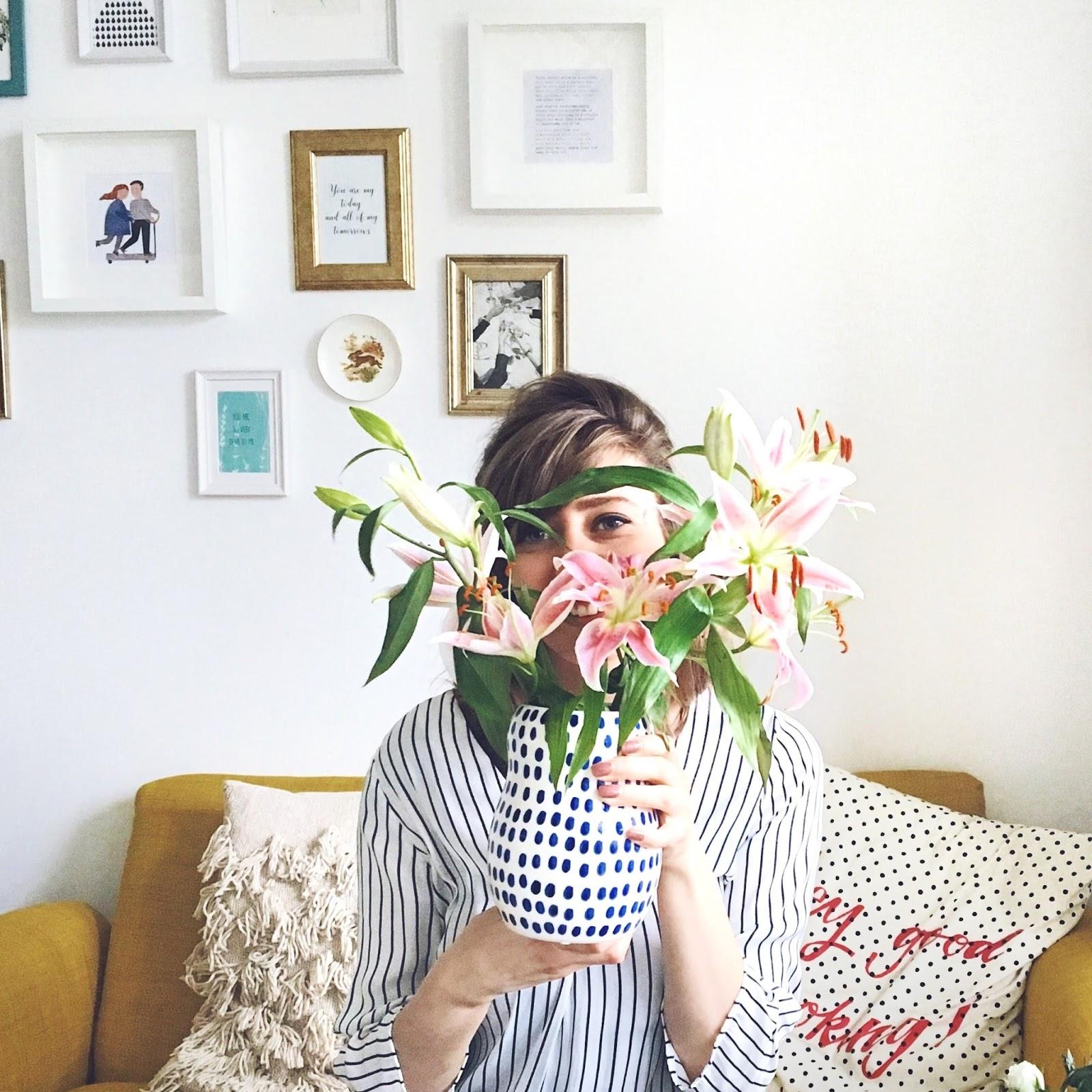 gėlės vazos