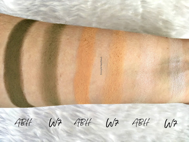 Anastasia Beverly Hills Subculture Palette Dupe Swatches