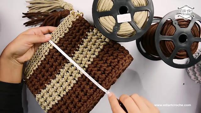 Paso a Paso de Bolso Iris a Crochet