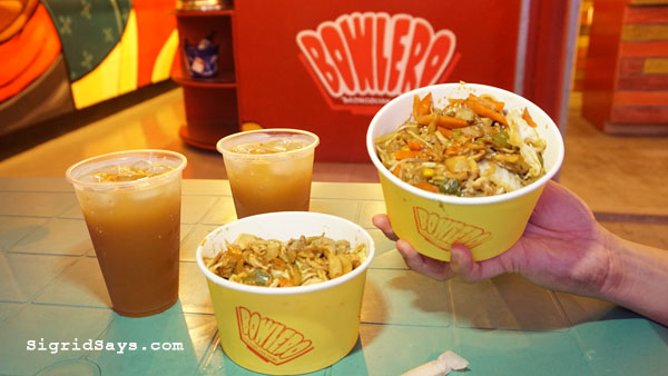 Bowlero Mongolia Bowl - 9th Streat Food Zone - Bacolod restaurants