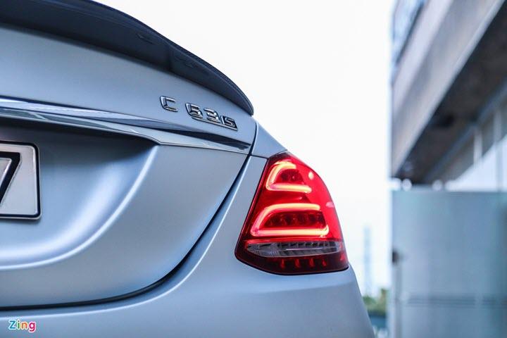 Mercedes-AMG C 63 S từng của Cường Đô La tái xuất với diện mạo mới