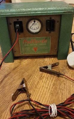 Vintage Car Battery Charger