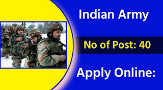 Indian Army Recruitment 2021 For 134th Technical Graduates Course (TGC) Vacancy