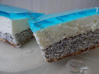"""Ciasto """"Błękitna laguna"""""""