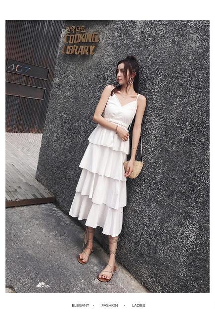 Shop ban vay maxi di bien tai Hai Ba Trung