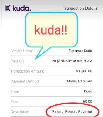 How To Earn Free N200 And Up To N5000 On Kuda App