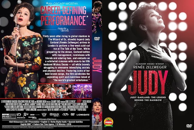 Judy DVD Cover