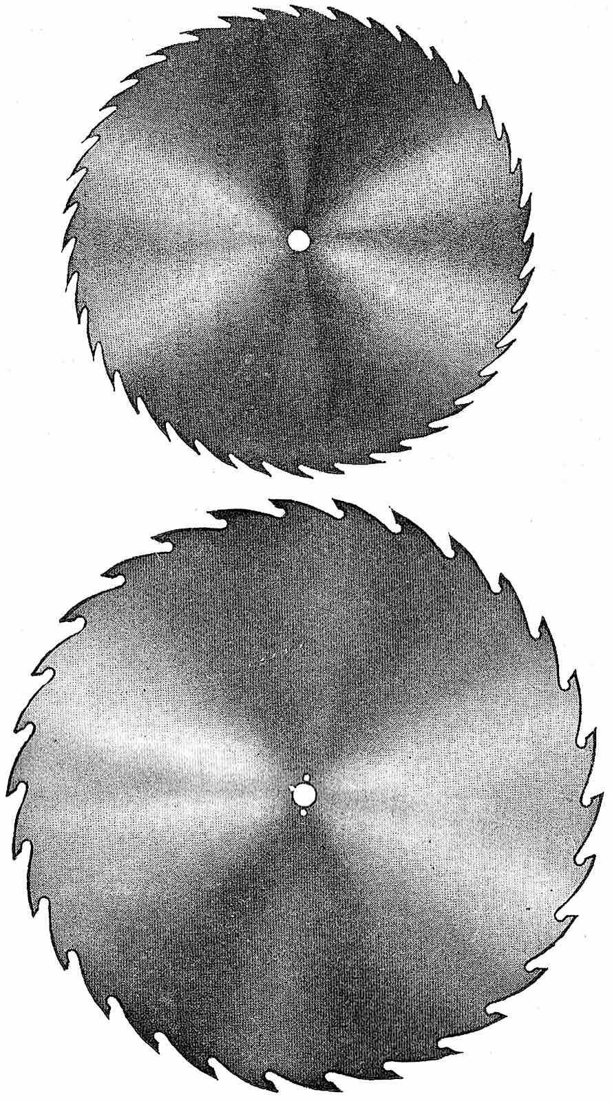 1905 factory circle sawblades