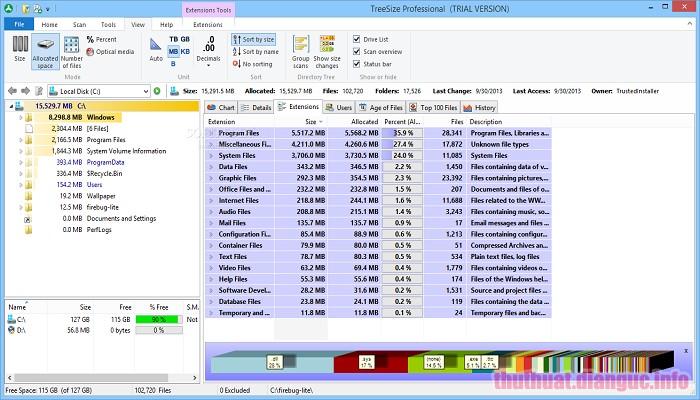 Download TreeSize Professional 7.1.1.1454 Full Crack