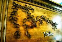 bunga karton untuk hiasan dinding