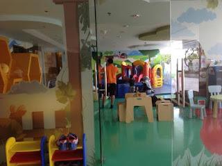 Kids zone yang bikin betah anak di Crowne Plaza Bandung