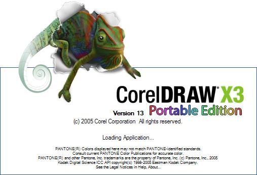 Free Download CorelDraw Portable X3