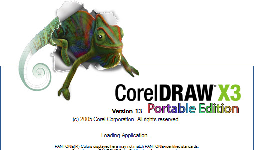 CorelDraw Portable X3 Free Download
