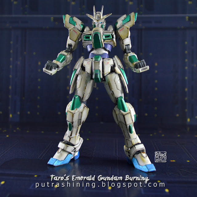 HGBF Try Burning Gundam Custom Paint by Putra Shining