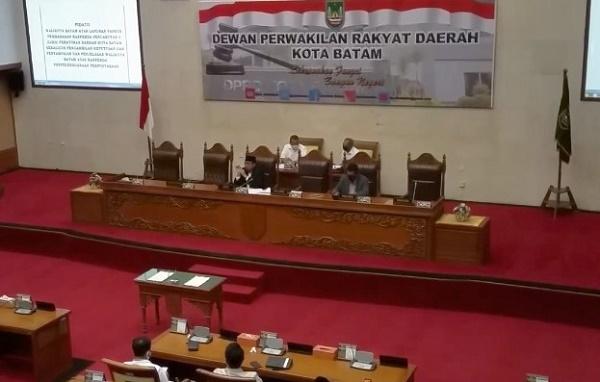 Anggota Komisi II Jabat Ketua Bapemperda DPRD Batam