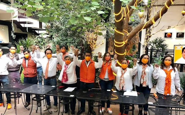 Presenta Beto Martínez planilla ciudadana a la alcaldía de San Pedro Cholula