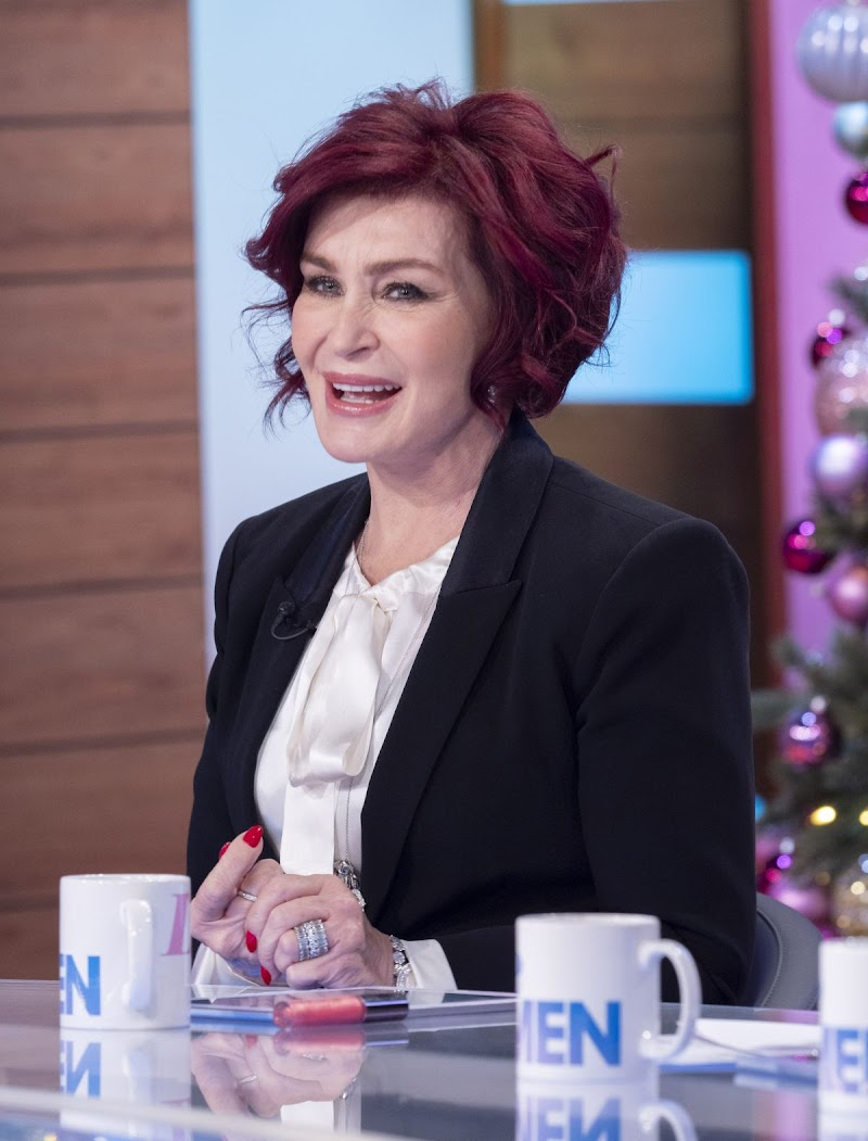 Sharon Osbourne clicks at Loose Women Show in London 18 Dec-2019