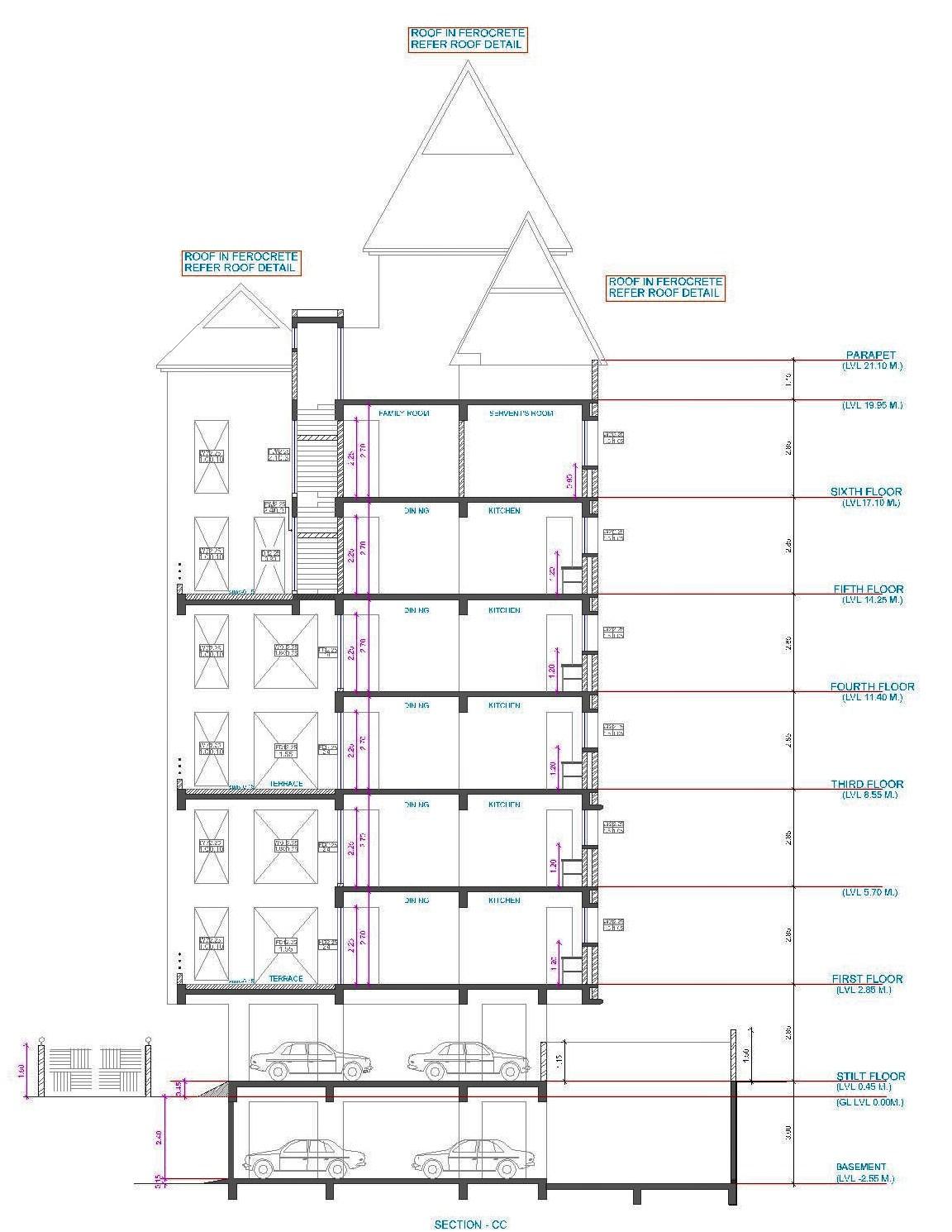 Architectural Portfolio: Feather Castle- A Housing at ...