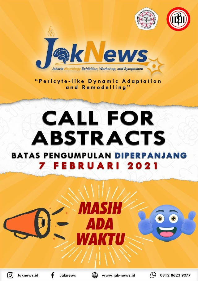 Call For Abstract   JakNews   Jakarta Neurology Exhibition, Workshop and Symposium
