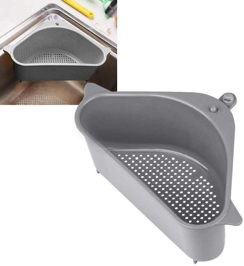 Sink Storage Holder Strainer Basket with Suction Cup