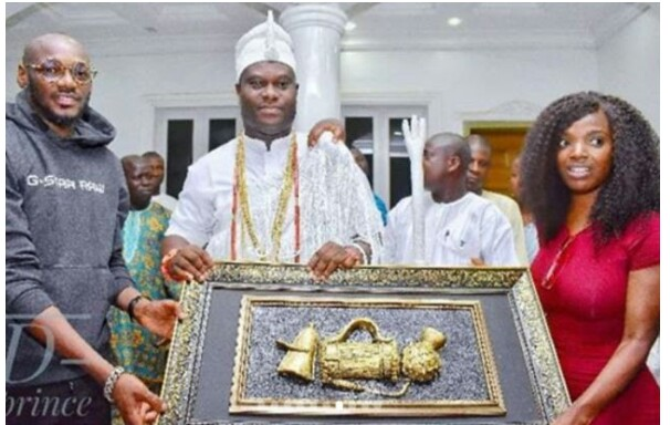 'Thank You For Taking Care of 2baba' – Ooni Of Ife Tells Annie Idibia