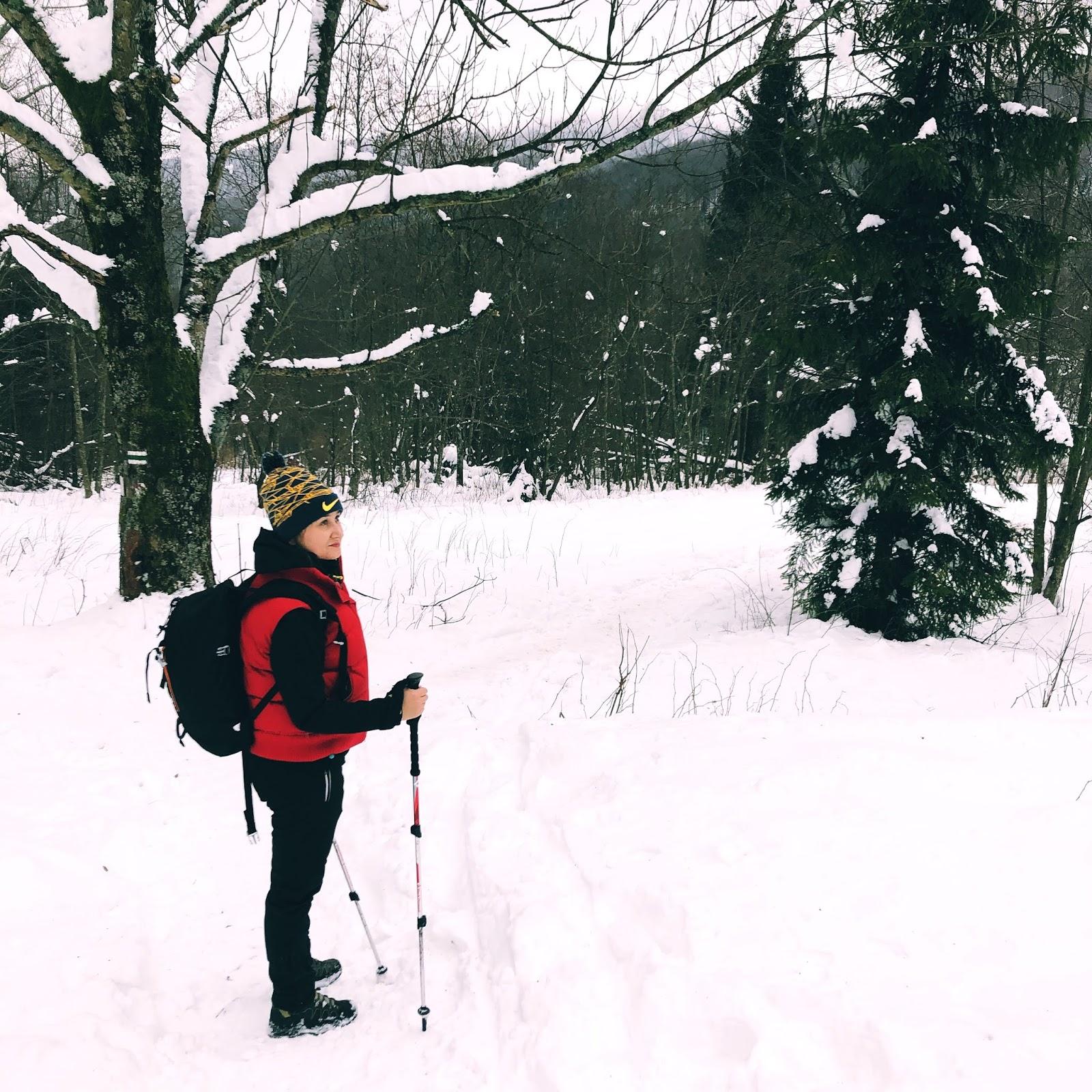 Zimowe Bieszczady - ścieżki spacerowe