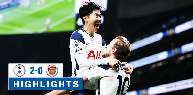 Tottenham vs Arsenal highlights
