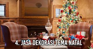 Jasa Dekorasi Tema Natal adalah salah satu bisnis yang menguntungkan saat moment Natal