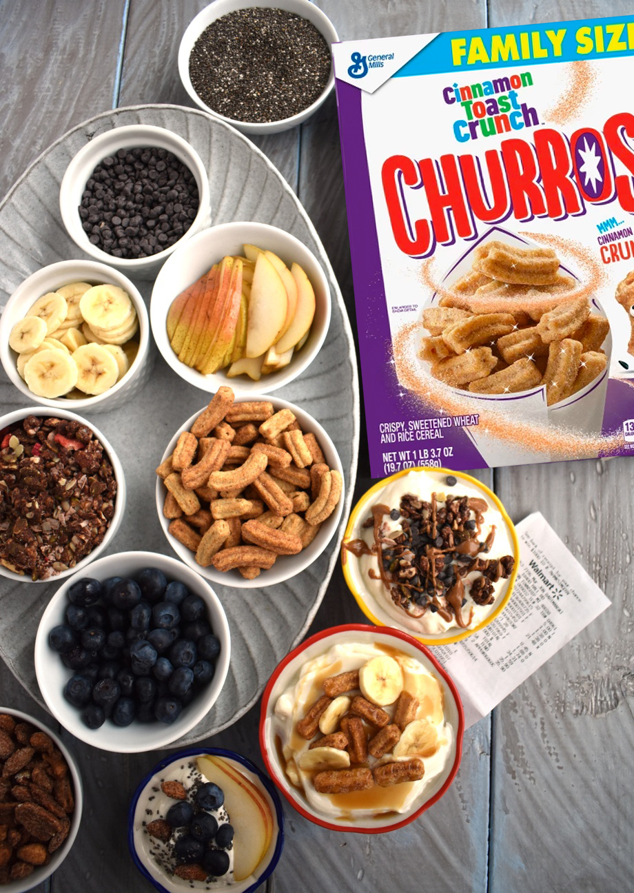 Build your own yogurt parfait bar photo