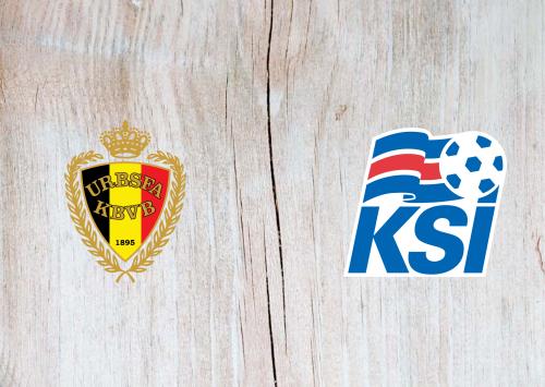 Belgium vs Iceland -Highlights 08 September 2020