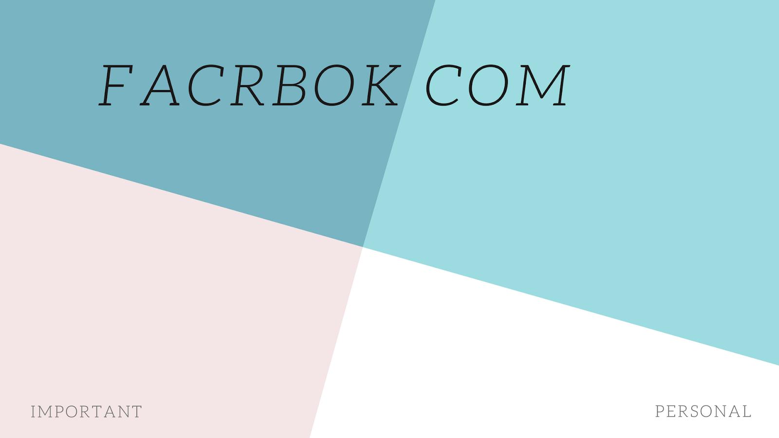 Facebook Proxy - Create Deactivate Account