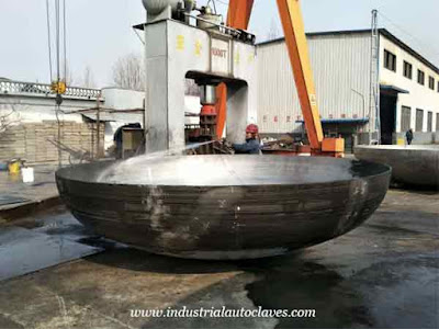 Uganda Customer Ordered Ellipsoidal Tank Heads  1