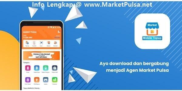 Mari Bisnis Jualan Pulsa Elektrik Murah All Operator Bersama MarketPulsa.net CV Market Cipta Payment