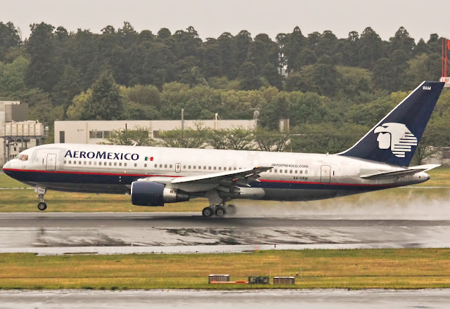 Why Extra Marks For South Aero Mexico Airlines?