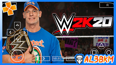 تحميل PPSSPP WWE 2K 2020 للاندرويد بحجم صغير